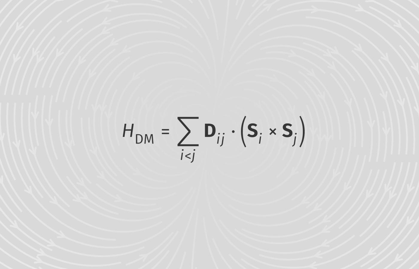 Dzyaloshinskii–Moriya Vector and Coefficient DM矢量与DM系数